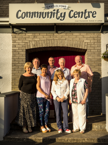 Sharon Shannon with our Community Centre Committee